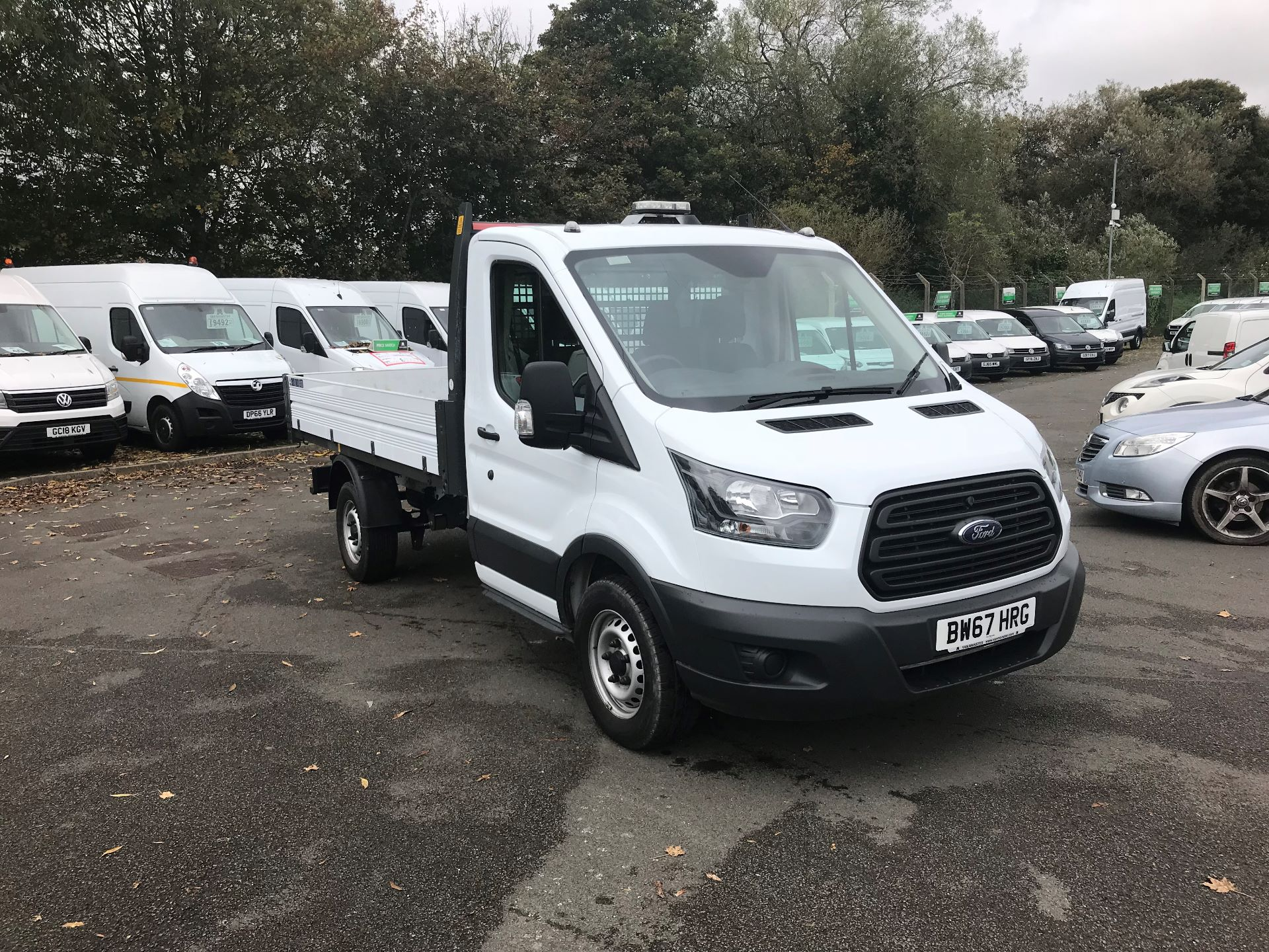 2018 Ford Transit  350 L2 SINGLE CAB TIPPER 130PS EURO 6 (BW67HRG)