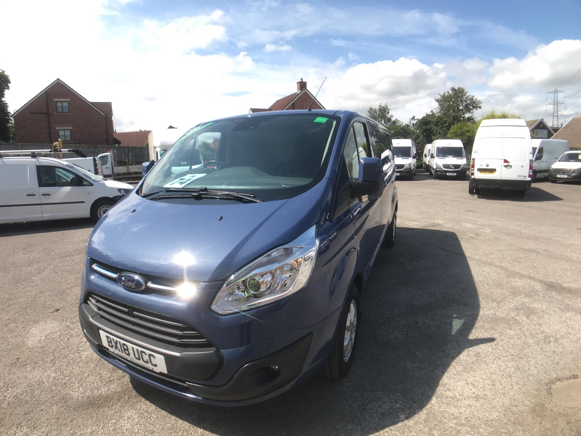 2018 Ford Transit Custom 2.0 Tdci 130Ps L2 Low Roof Limited Van Auto Euro 6 (BX18UCC) Image 3
