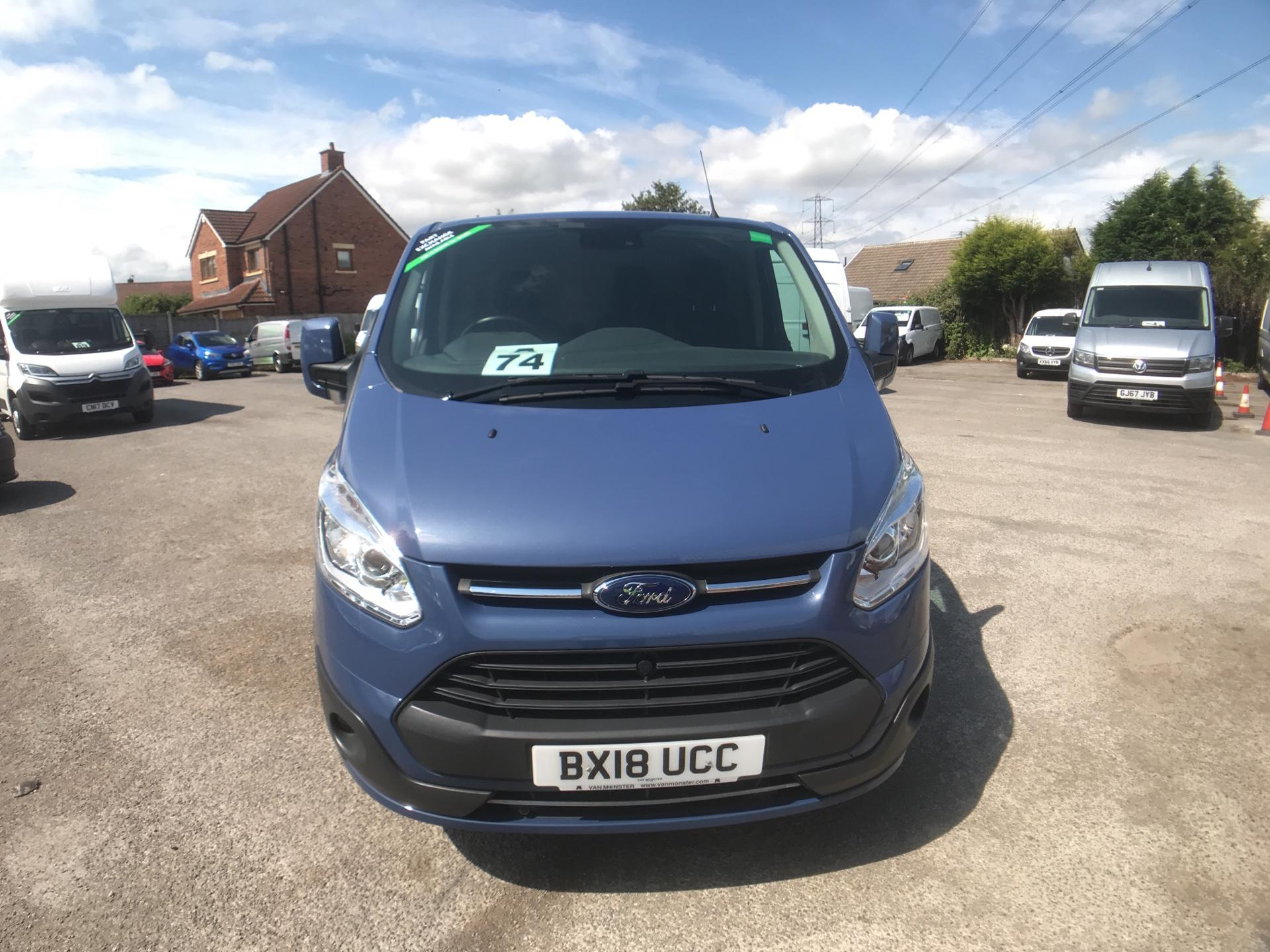 2018 Ford Transit Custom 2.0 Tdci 130Ps L2 Low Roof Limited Van Auto Euro 6 (BX18UCC) Image 2