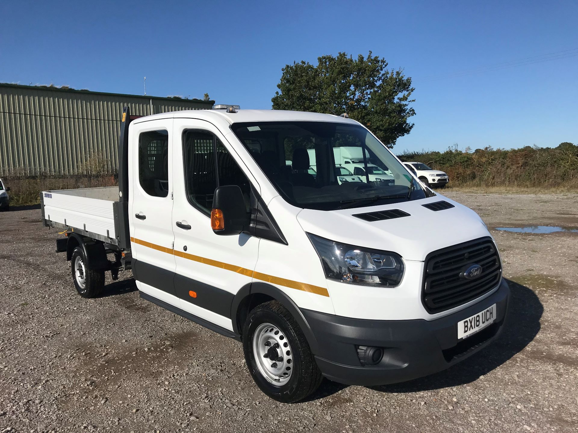 2018 Ford Transit 350 L3 DOUBLE CAB TIPPER 130PS EURO 6 (BX18UCH)