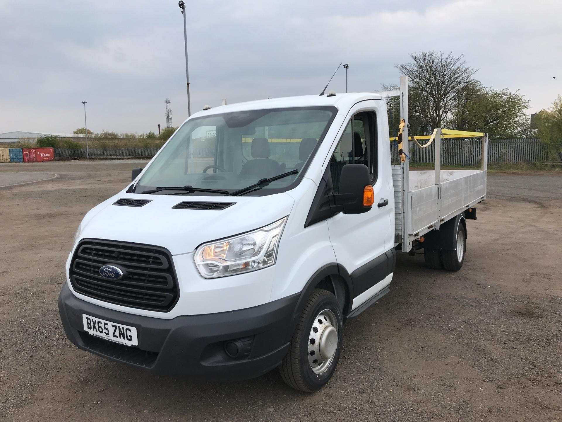 2015 Ford Transit 350 L4 DROP SIDE 125PS EURO 5 (BX65ZNG) Image 7