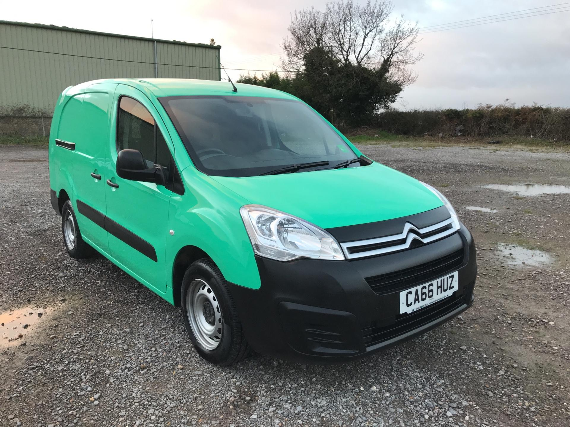 2017 Citroen Berlingo L2 DIESEL 1.6 BLUEHDI 750 LX 100PS EURO 6  (CA66HUZ)