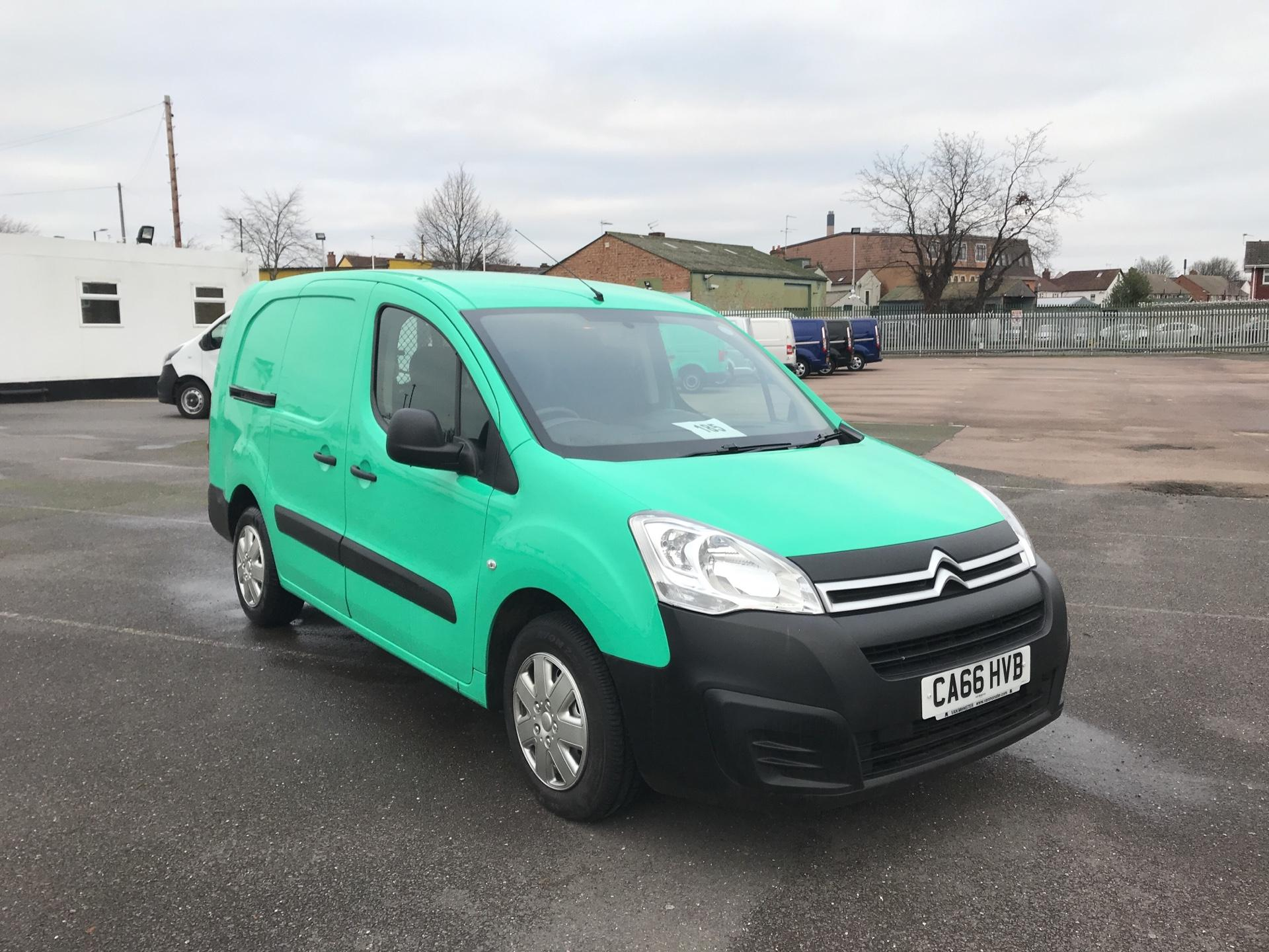 2017 Citroen Berlingo L2 DIESEL 1.6 BLUEHDI 750 LX 100PS EURO 6  (CA66HVB)