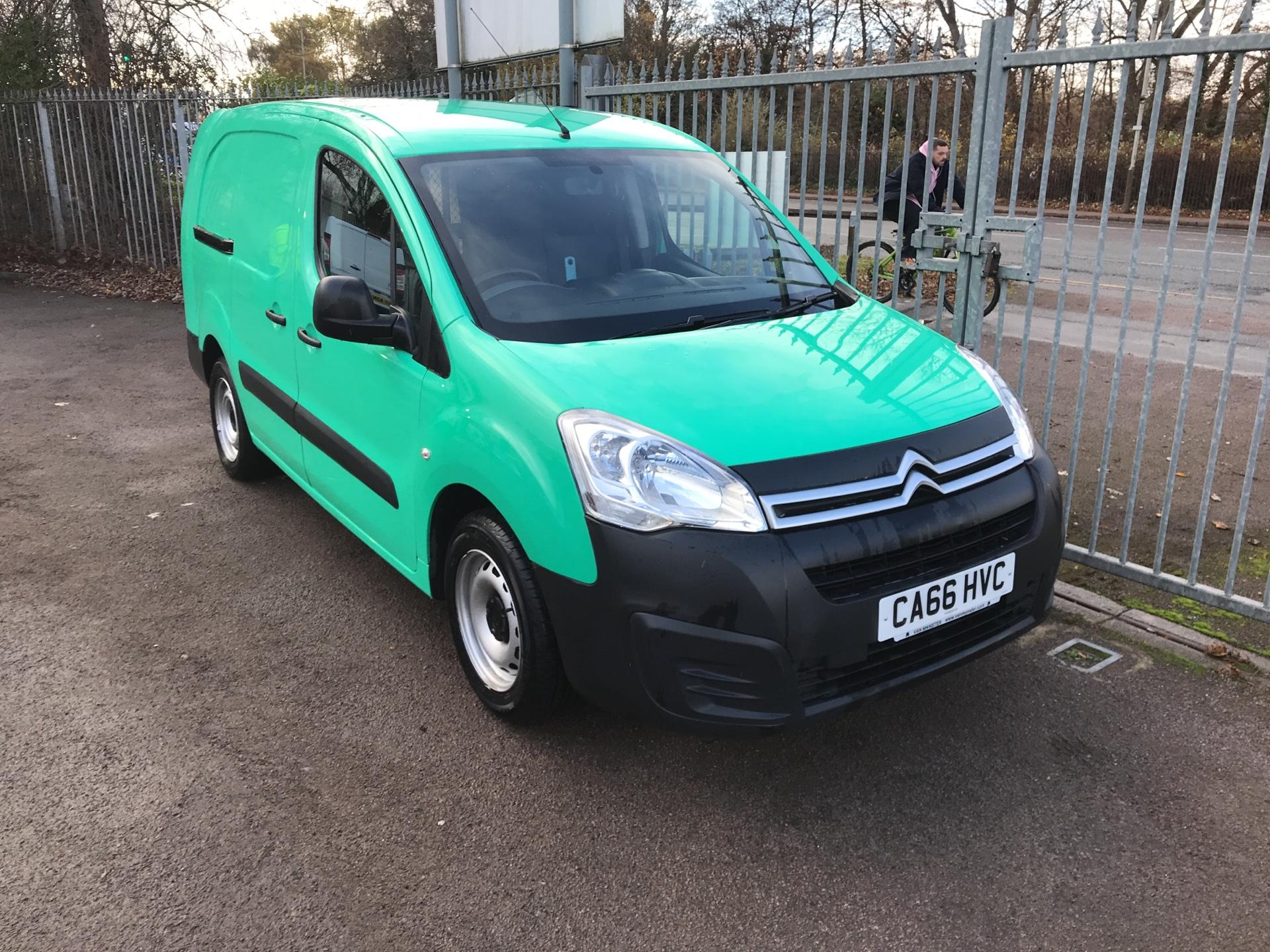 2017 Citroen Berlingo L2 DIESEL 1.6 BLUEHDI 750 LX 100PS EURO 6  (CA66HVC)