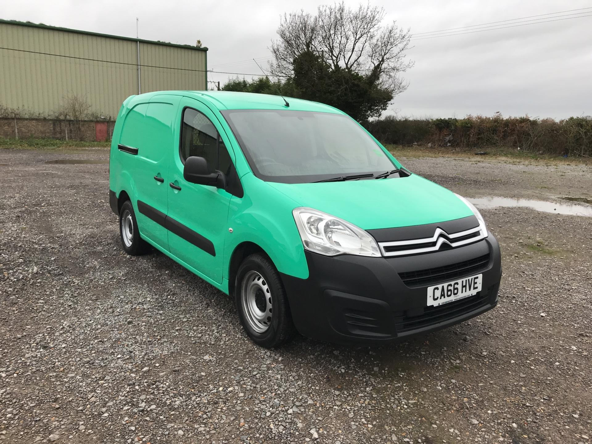 2017 Citroen Berlingo L2 DIESEL 1.6 BLUEHDI 750 LX 100PS EURO 6  (CA66HVE)