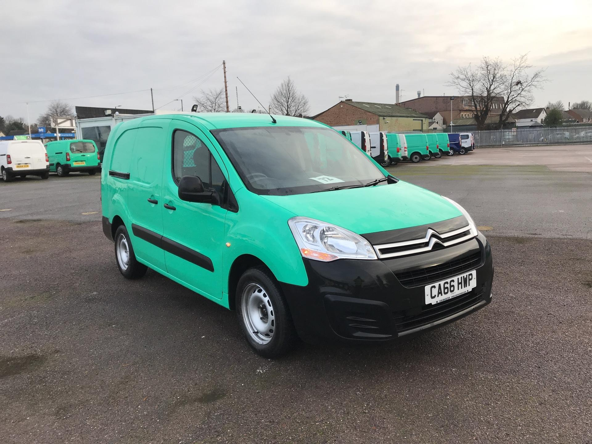 2017 Citroen Berlingo L2 DIESEL 1.6 BLUEHDI 750 LX 100PS EURO 6  (CA66HWP)