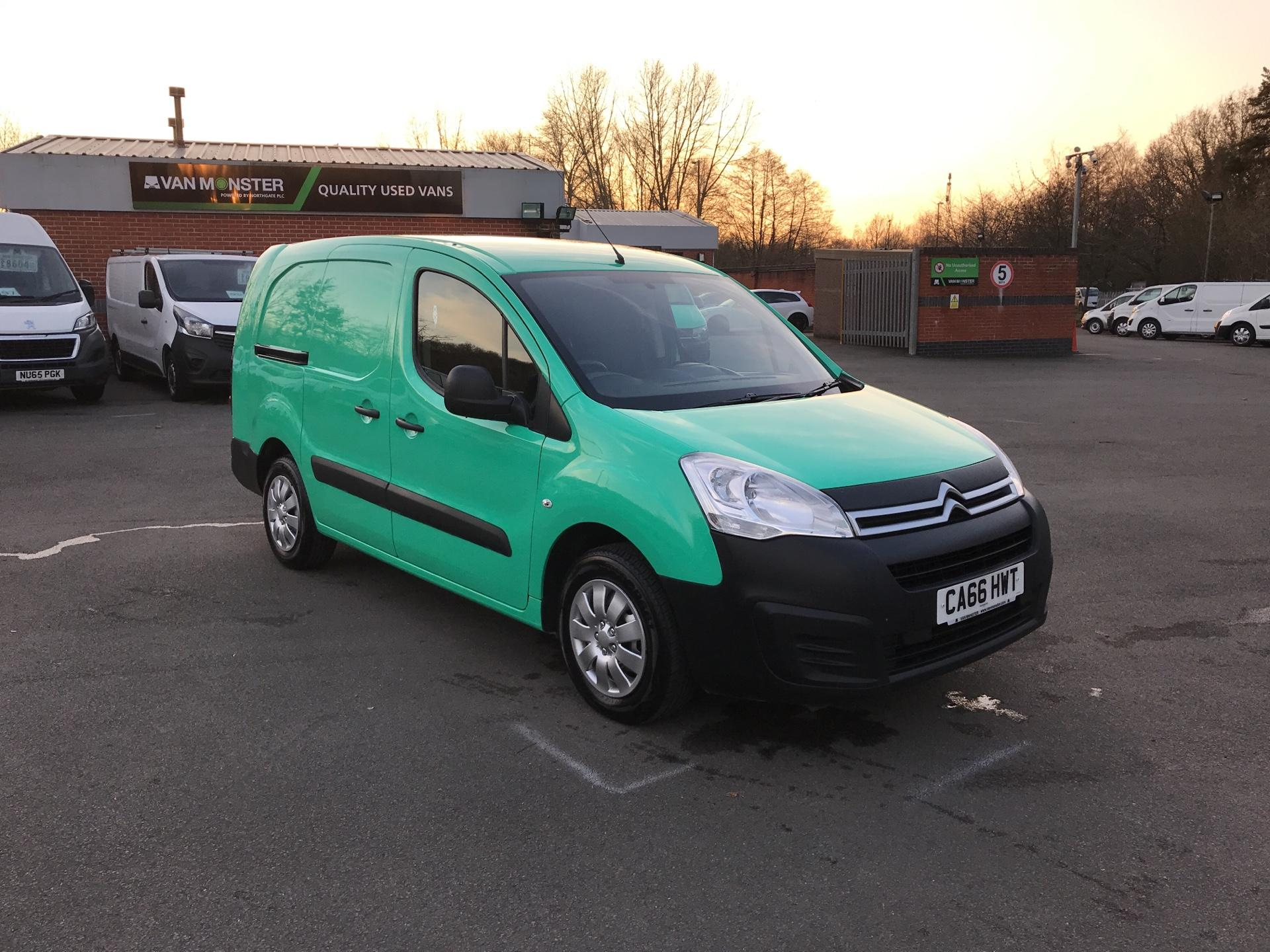 2017 Citroen Berlingo L2 DIESEL 1.6 BLUEHDI 750 LX 100PS EURO 6  (CA66HWT)