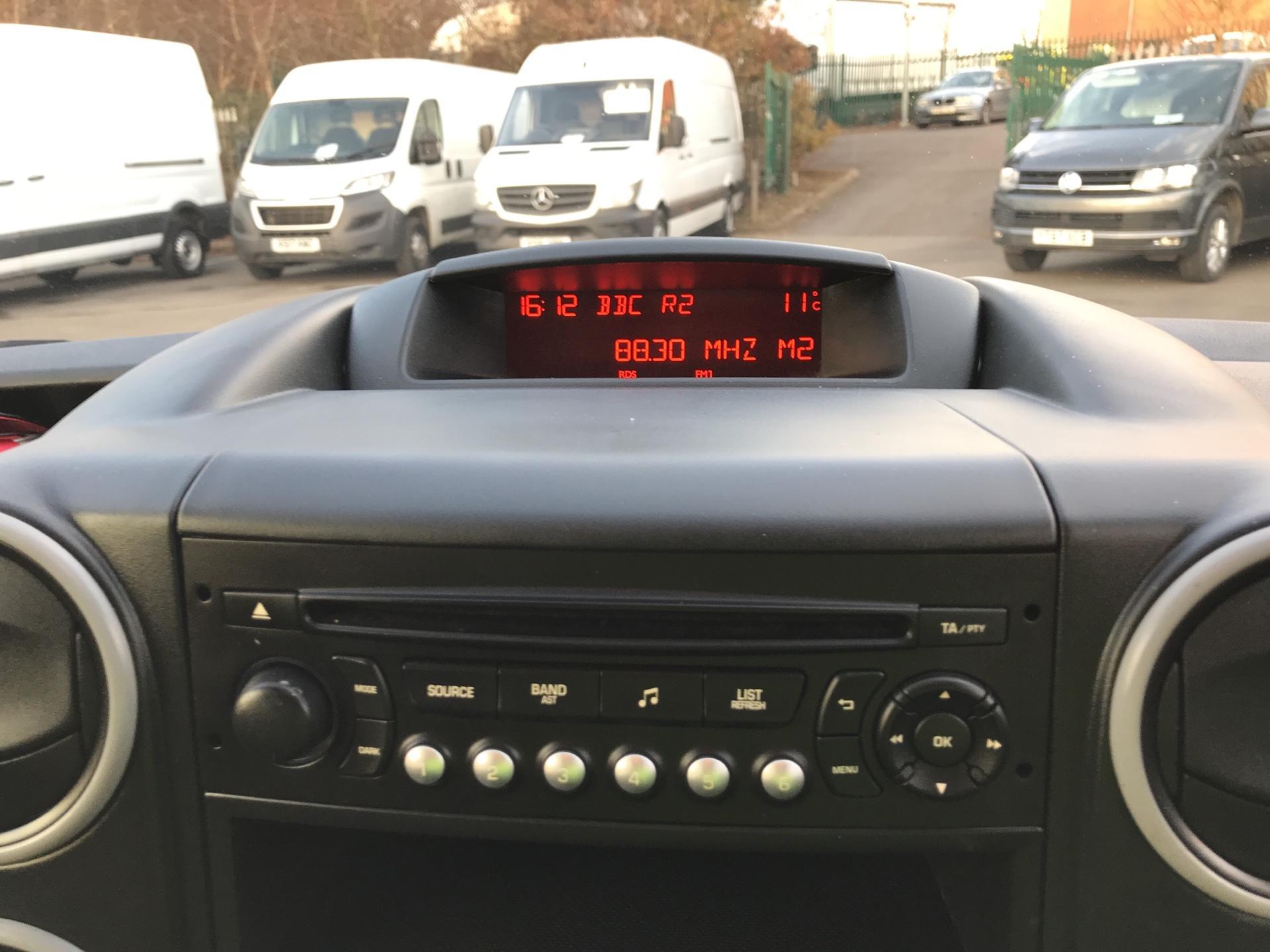 2017 Citroen Berlingo L2 DIESEL 1.6 BLUEHDI 750 LX 100PS EURO 6  (CA66HWT) Image 10