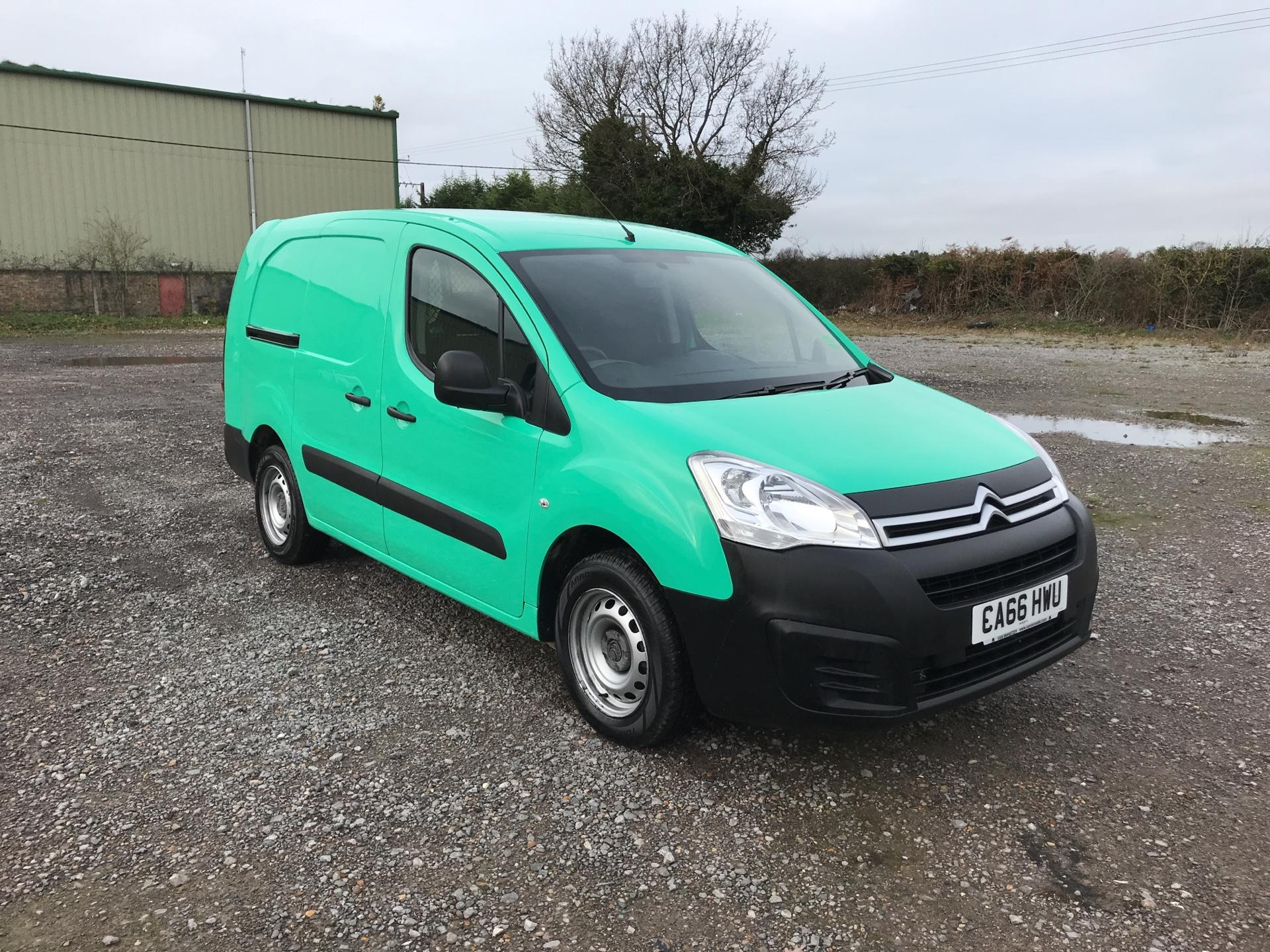 2017 Citroen Berlingo L2 DIESEL 1.6 BLUEHDI 750 LX 100PS EURO 6  (CA66HWU)