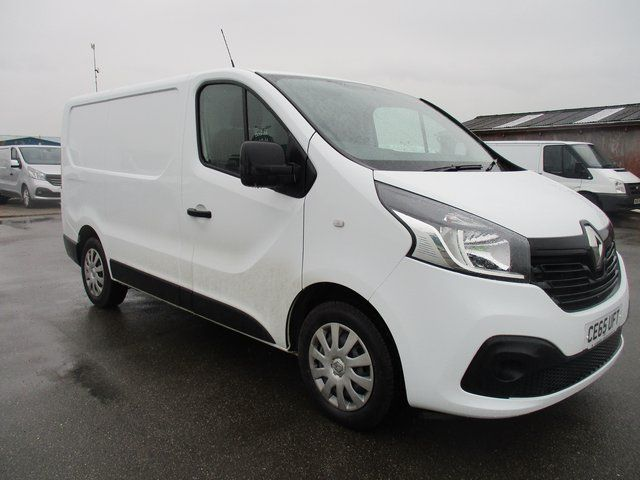2015 Renault Trafic SL27 1.6 DCI 115PS BUSINESS PLUS VAN (CE65UFT)