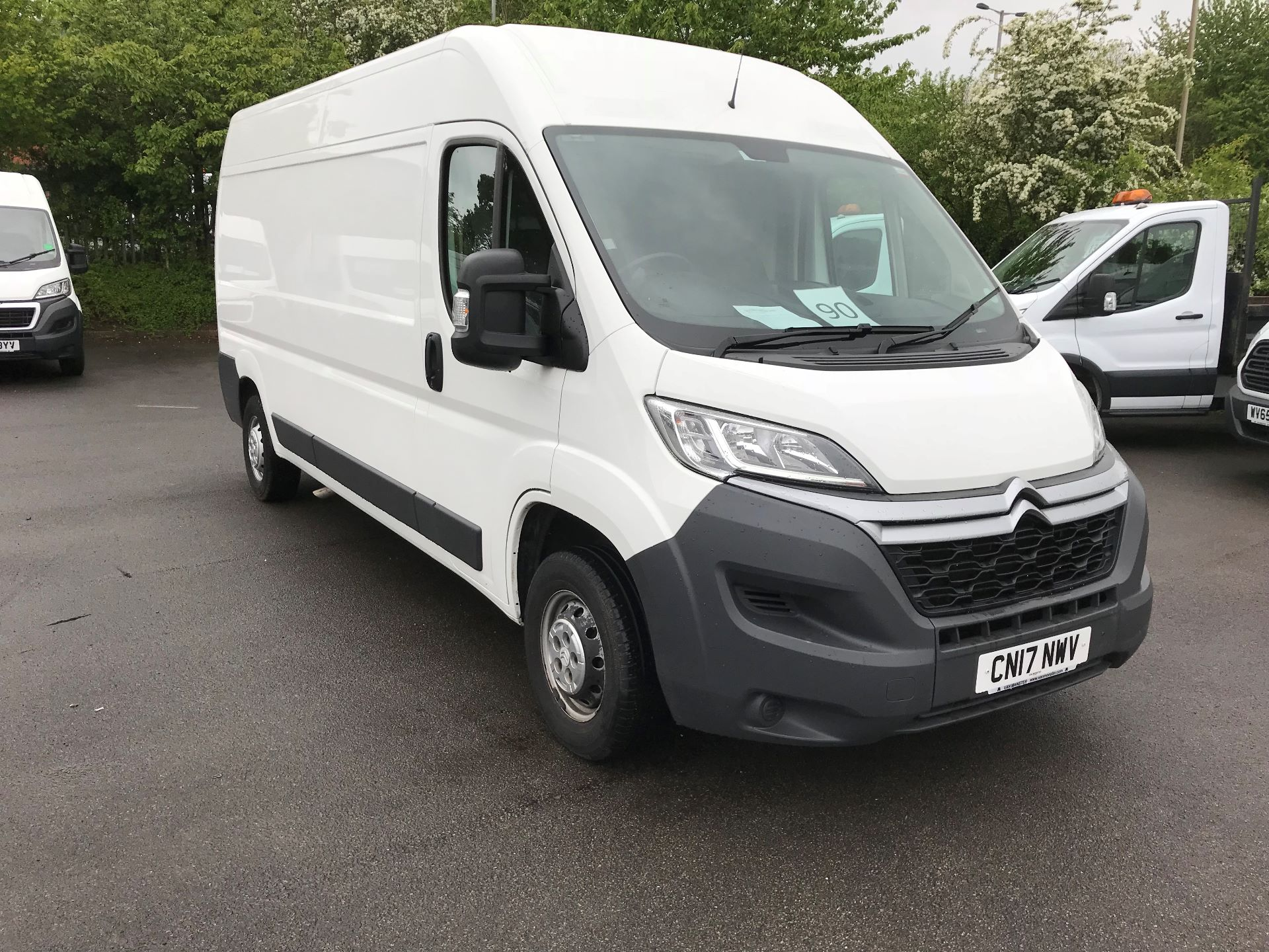 2017 Citroen Relay 2.0 Bluehdi H2 Van 130Ps (CN17NWV)