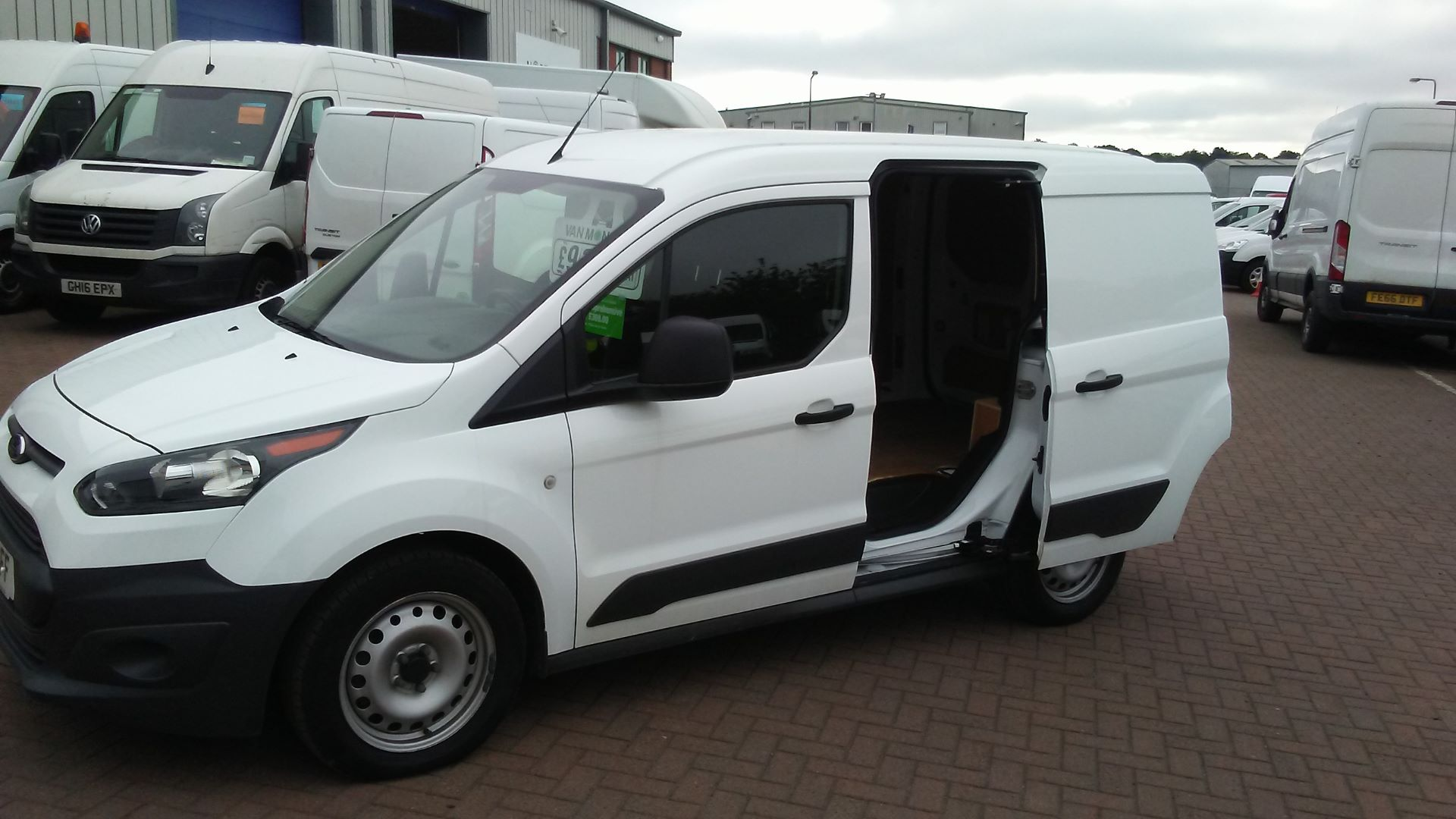 2017 Ford Transit Connect 220 L1 1.5 Tdci 100Ps EURO 6 (CP17SFF) Image 8