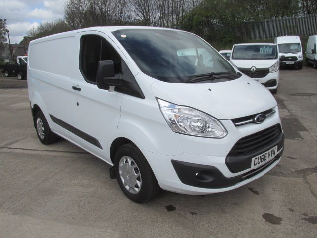 2017 Ford Transit Custom 290 L1 2.0 Tdci 105Ps Low Roof Trend Van (CU66VYN)
