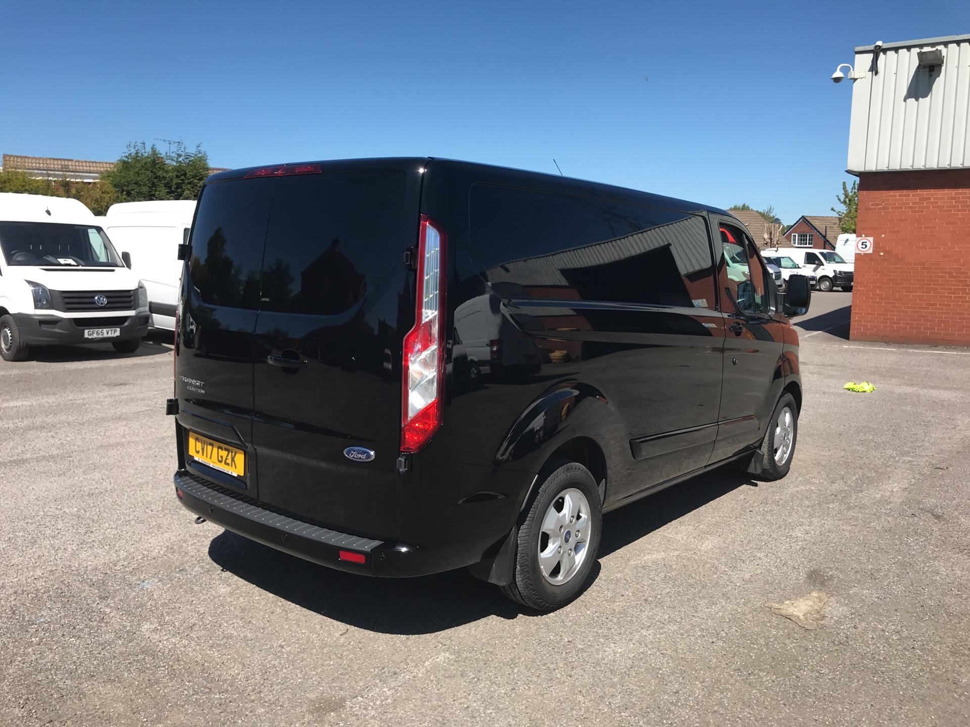 2017 Ford Transit Custom 2.0 Tdci 130Ps Low Roof LIMITED Van EURO 6 (CV17GZK) Image 3