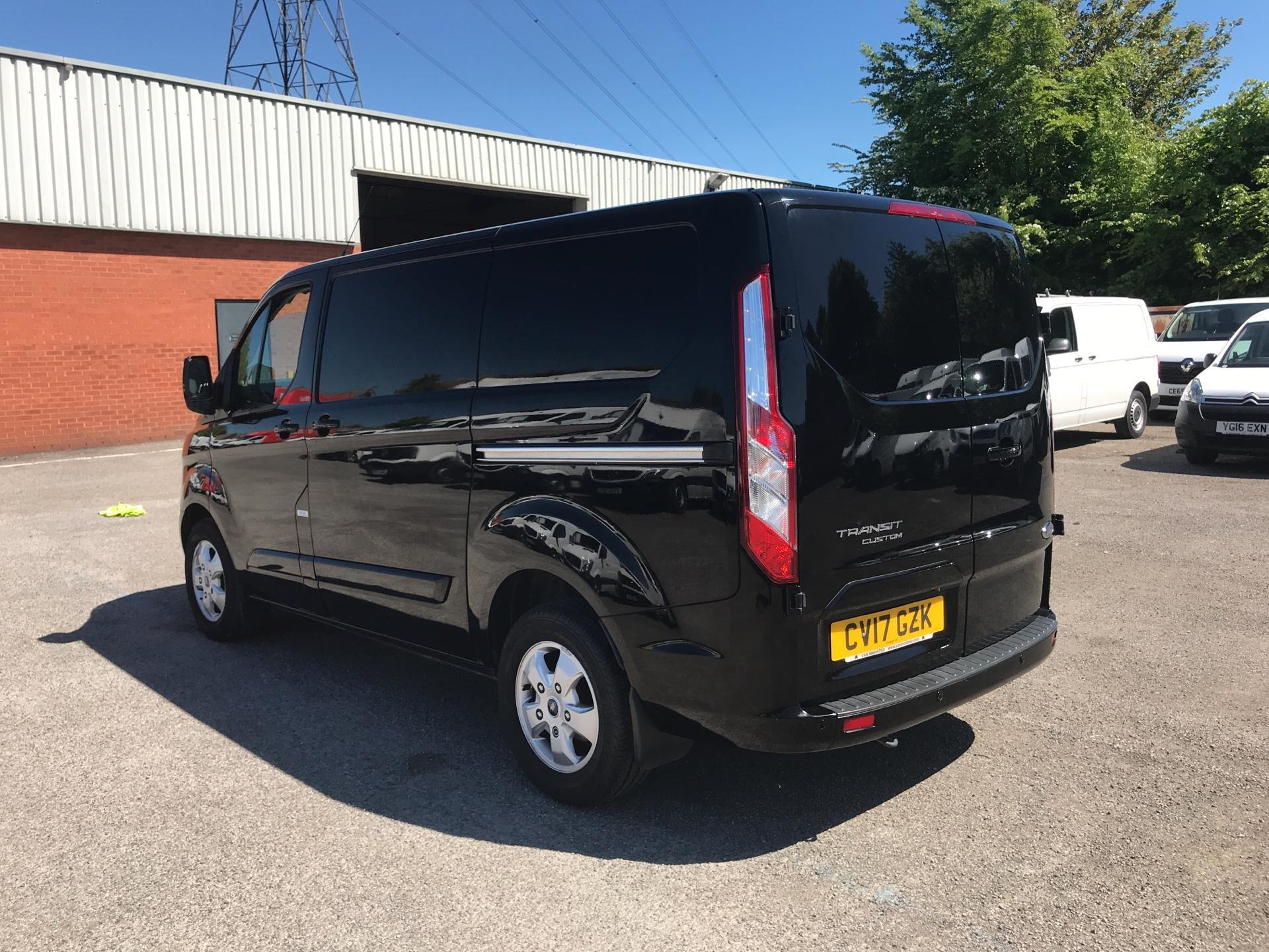 2017 Ford Transit Custom 2.0 Tdci 130Ps Low Roof LIMITED Van EURO 6 (CV17GZK) Image 5