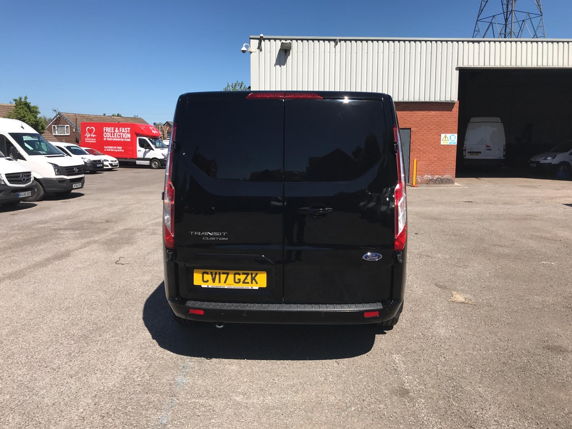 2017 Ford Transit Custom 2.0 Tdci 130Ps Low Roof LIMITED Van EURO 6 (CV17GZK) Image 4