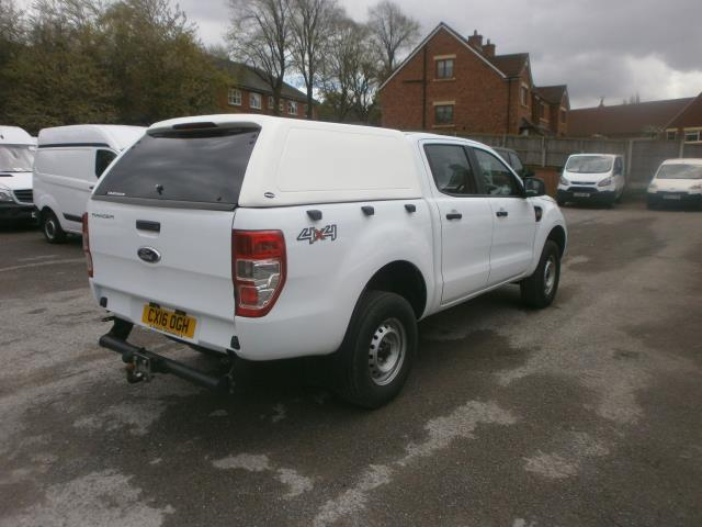 2016 Ford Ranger  Double Cab Pick Up Xl 2.2 Euro 5/6 (CX16OGH) Image 4