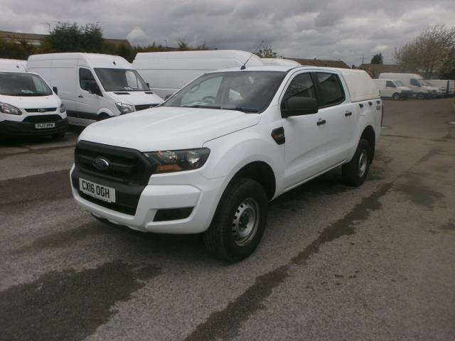 2016 Ford Ranger  Double Cab Pick Up Xl 2.2 Euro 5/6 (CX16OGH) Image 2