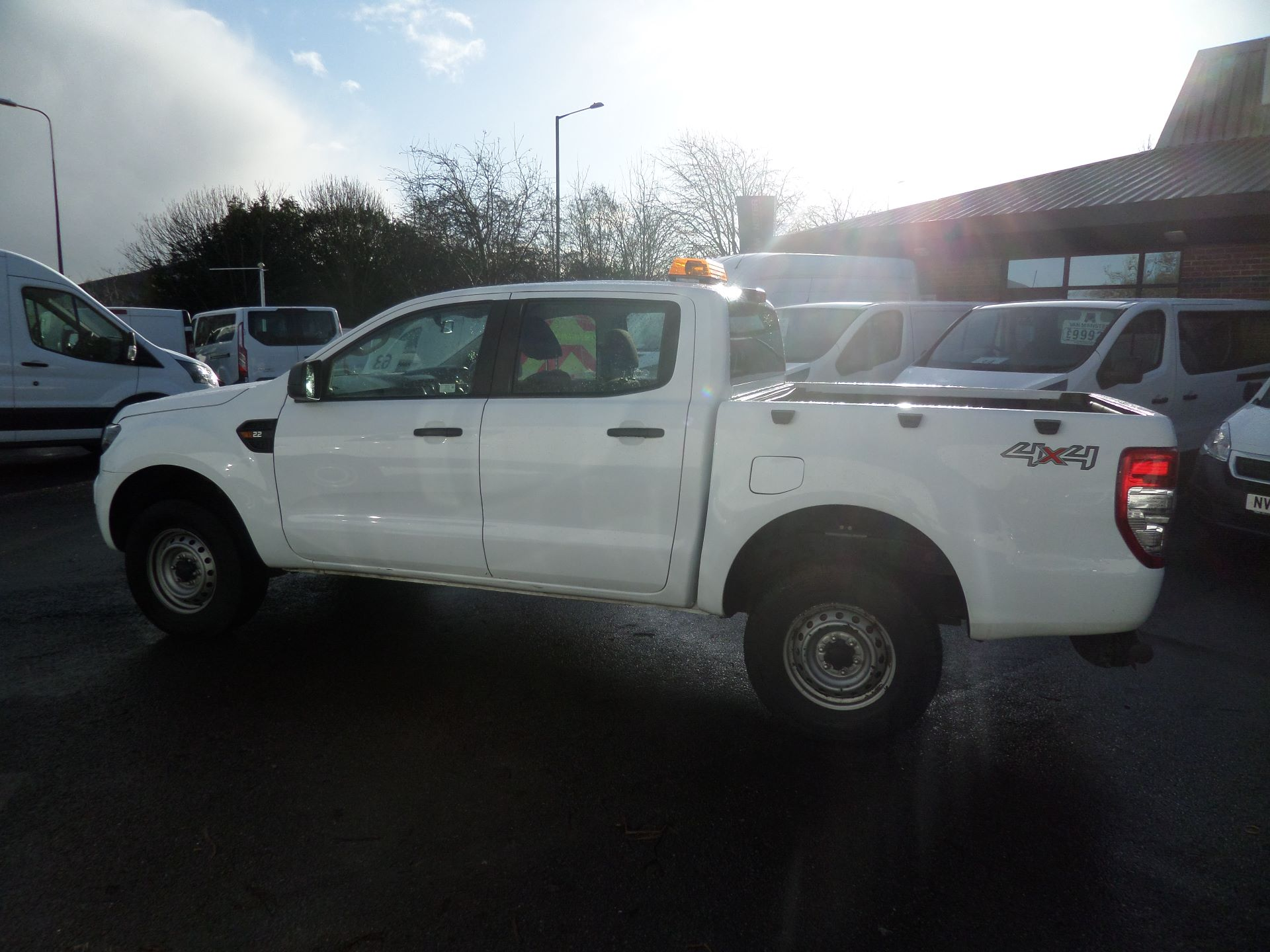 2016 Ford Ranger Pick Up Double Cab Xl 2.2 Tdci Euro 5 (CX66HZT) Image 5
