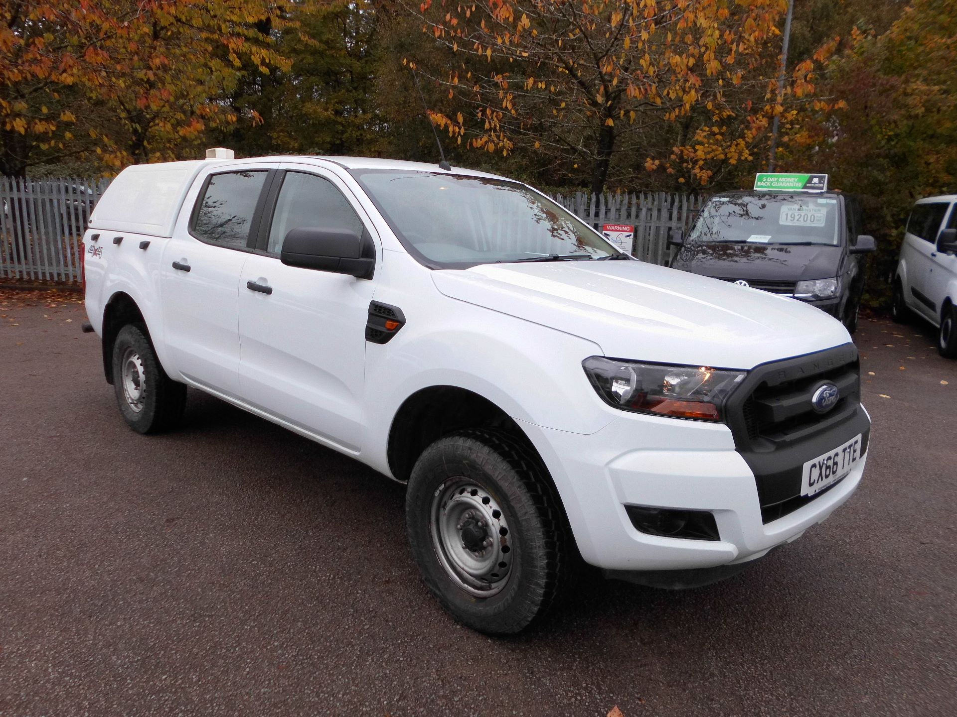2016 Ford Ranger Double Cab Pick Up XL 2.2 EURO 5 (CX66TTE)
