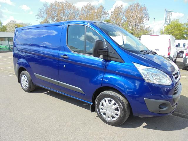 2016 Ford Transit Custom 290 L1 DIESEL FWD 2.2 TDCI 125PS LOW ROOF TREND VAN EURO 5 (BLUE COLOUR) (CY16LNZ)