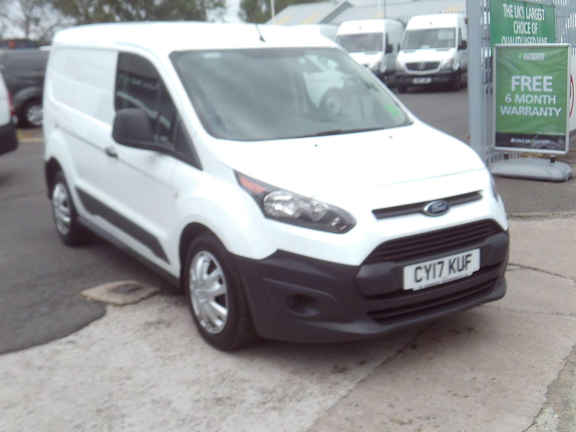 2017 Ford Transit Connect 220 L1 DIESEL 1.5 TDCi 100PS VAN EURO 6 (CY17KUF)
