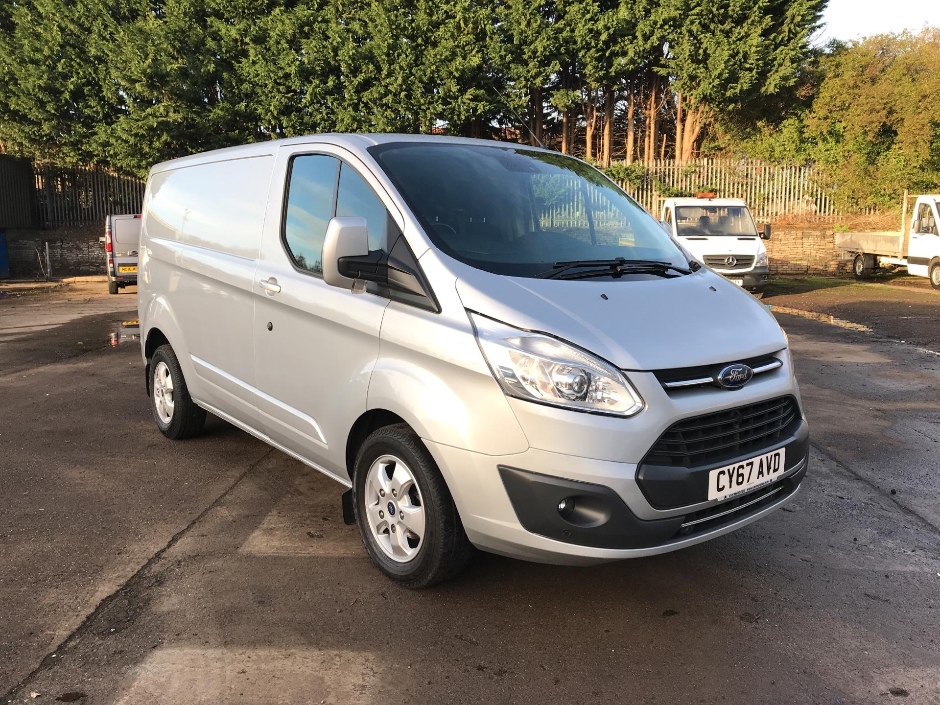 2017 Ford Transit Custom 270 L1 DIESEL FWD 2.0 TDCI 130PS LOW ROOF LIMITED VAN EURO 6 (CY67AVD)