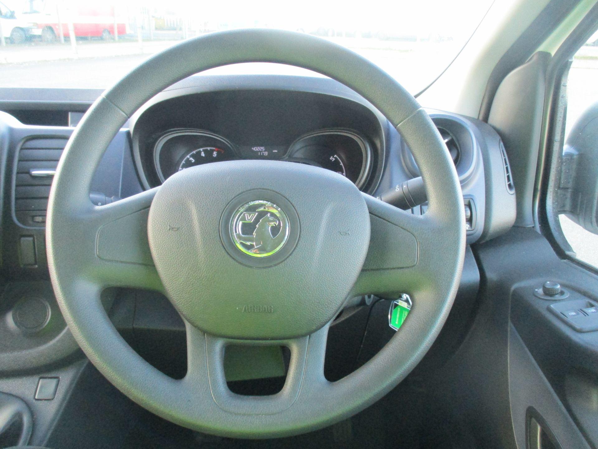 2017 Vauxhall Vivaro L2 H1 2900 1.6 CDTI 120PS EURO 6 (DA67EFJ) Image 16