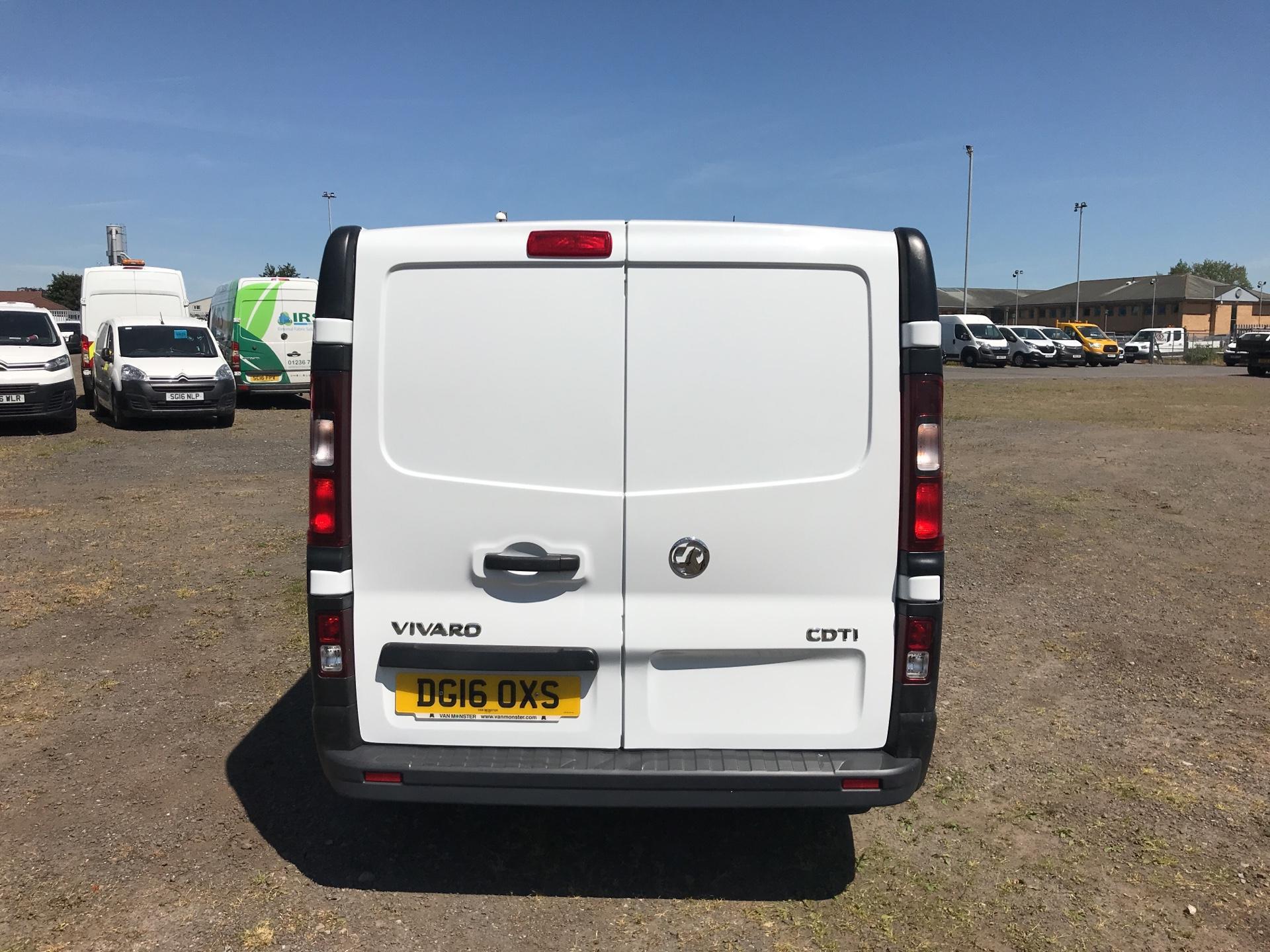 2016 Vauxhall Vivaro L2 H1 2900 1.6Cdti 115Ps EURO 5 (DG16OXS) Image 4