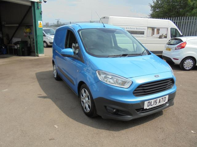 2015 Ford Transit Courier DIESEL 1.6 TDCi TREND VAN EURO 5/6 (A/C, BLUE TOOTH,BLUE COLOUR) (DL15ATO)