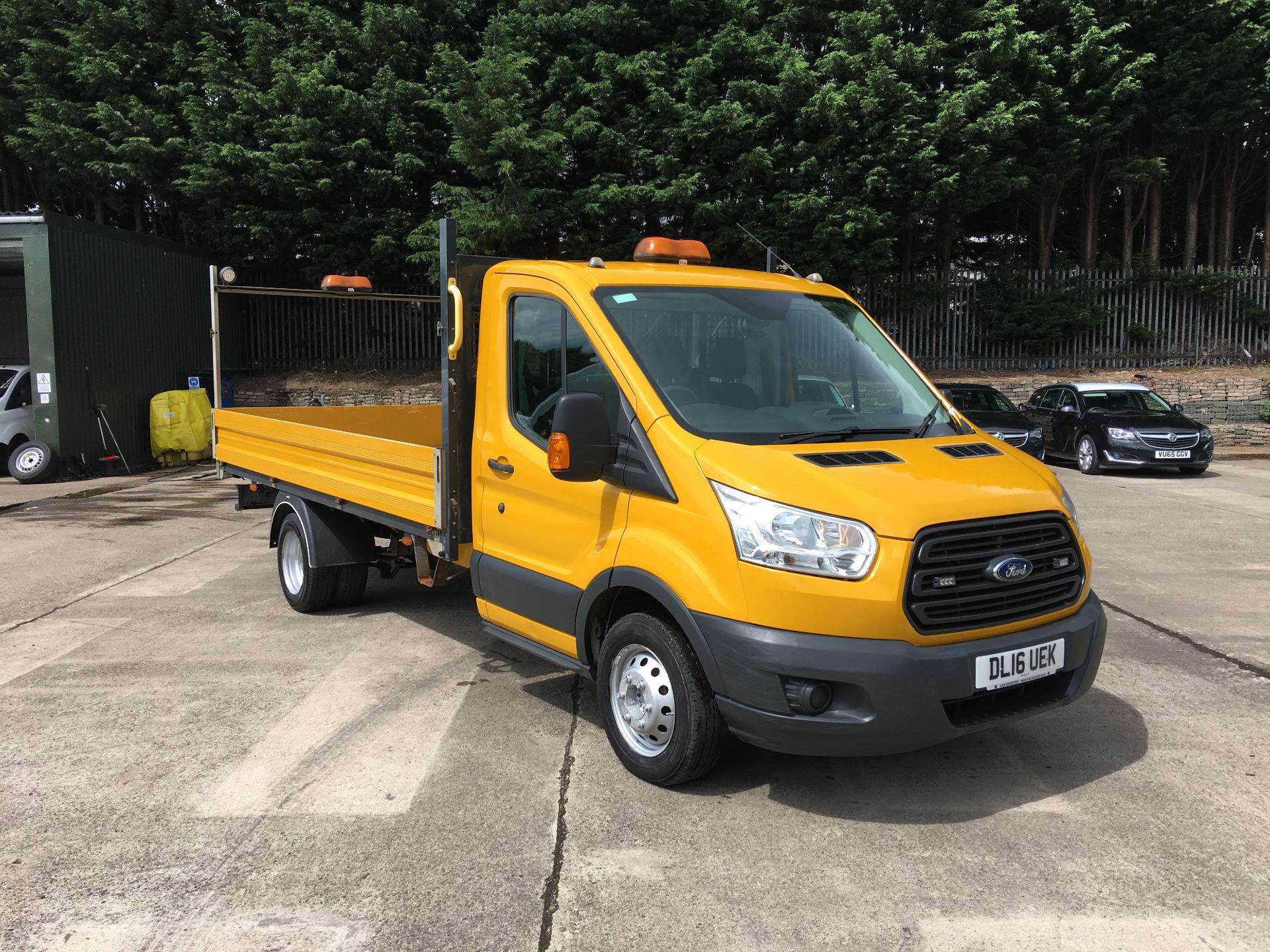 2016 Ford Transit 350 L3 RWD 2.2 TDCI 125PS DROPSIDE EURO5 (DL16UEK)