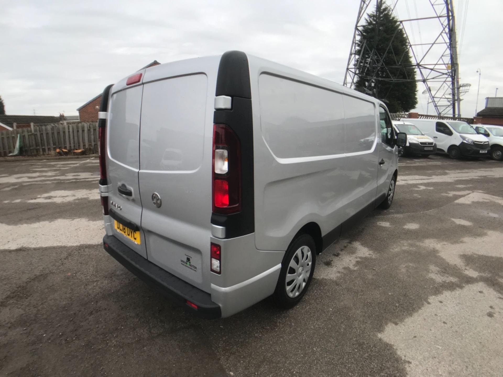 2018 Vauxhall Vivaro L2 H1 2900 1.6CDTI 120PS SPORTIVE EURO 6 (DL18UYC) Image 5
