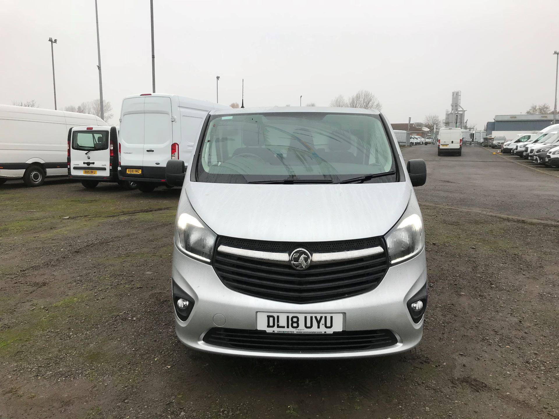 2018 Vauxhall Vivaro 2900 1.6Cdti 120Ps Sportive H1 Van (DL18UYU) Image 2