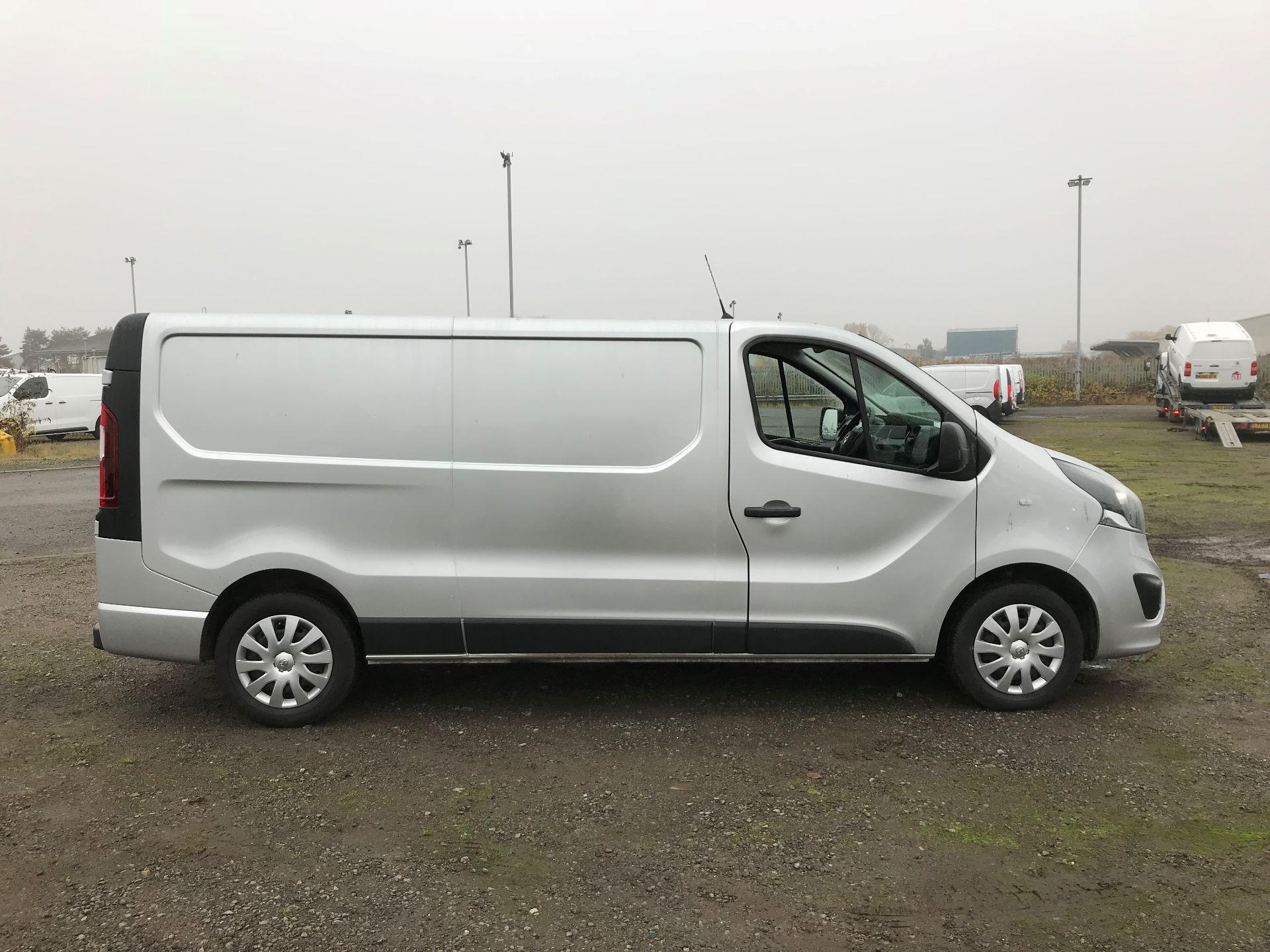 2018 Vauxhall Vivaro 2900 1.6Cdti 120Ps Sportive H1 Van (DL18UYU) Image 8