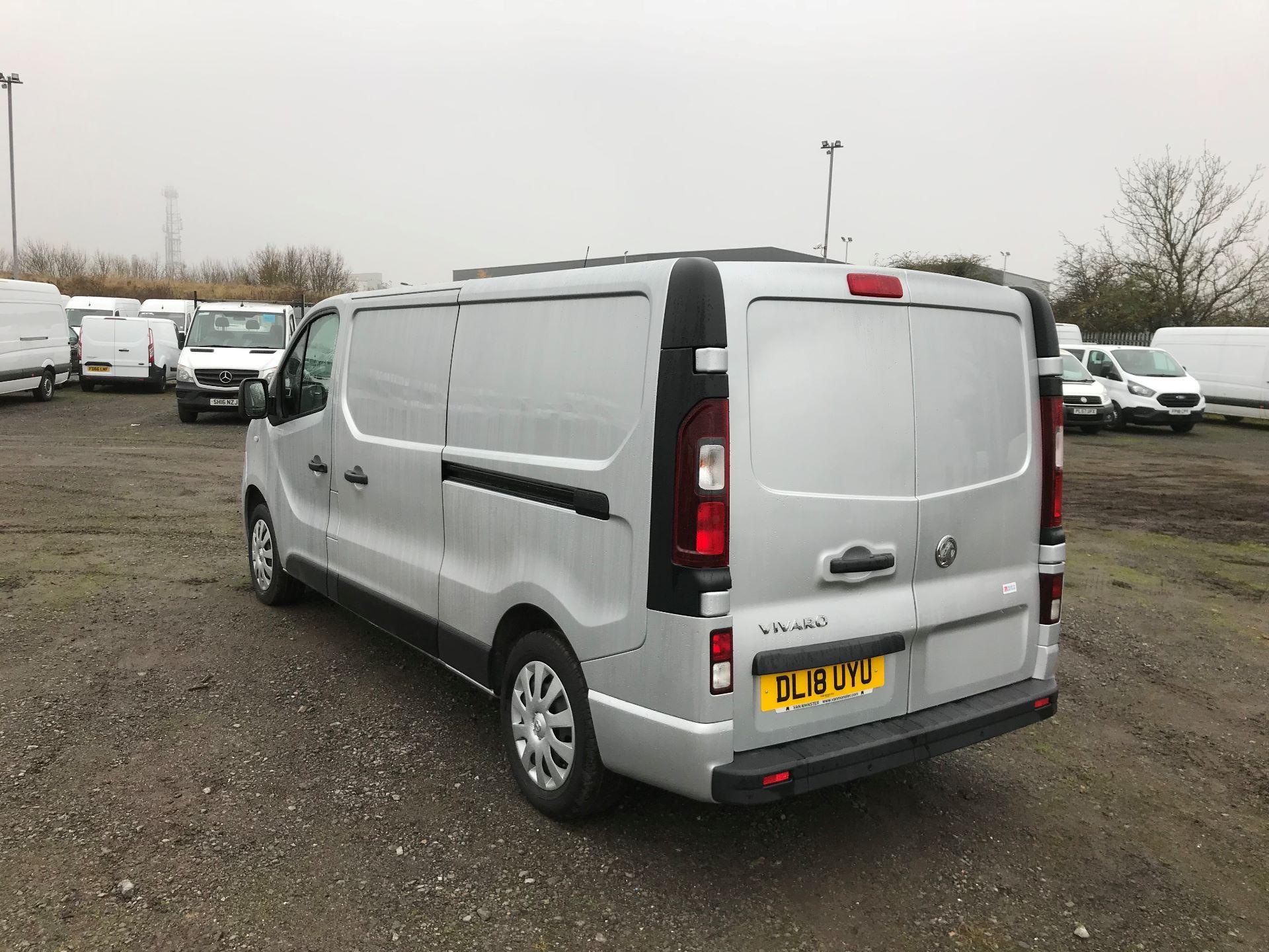 2018 Vauxhall Vivaro 2900 1.6Cdti 120Ps Sportive H1 Van (DL18UYU) Image 5