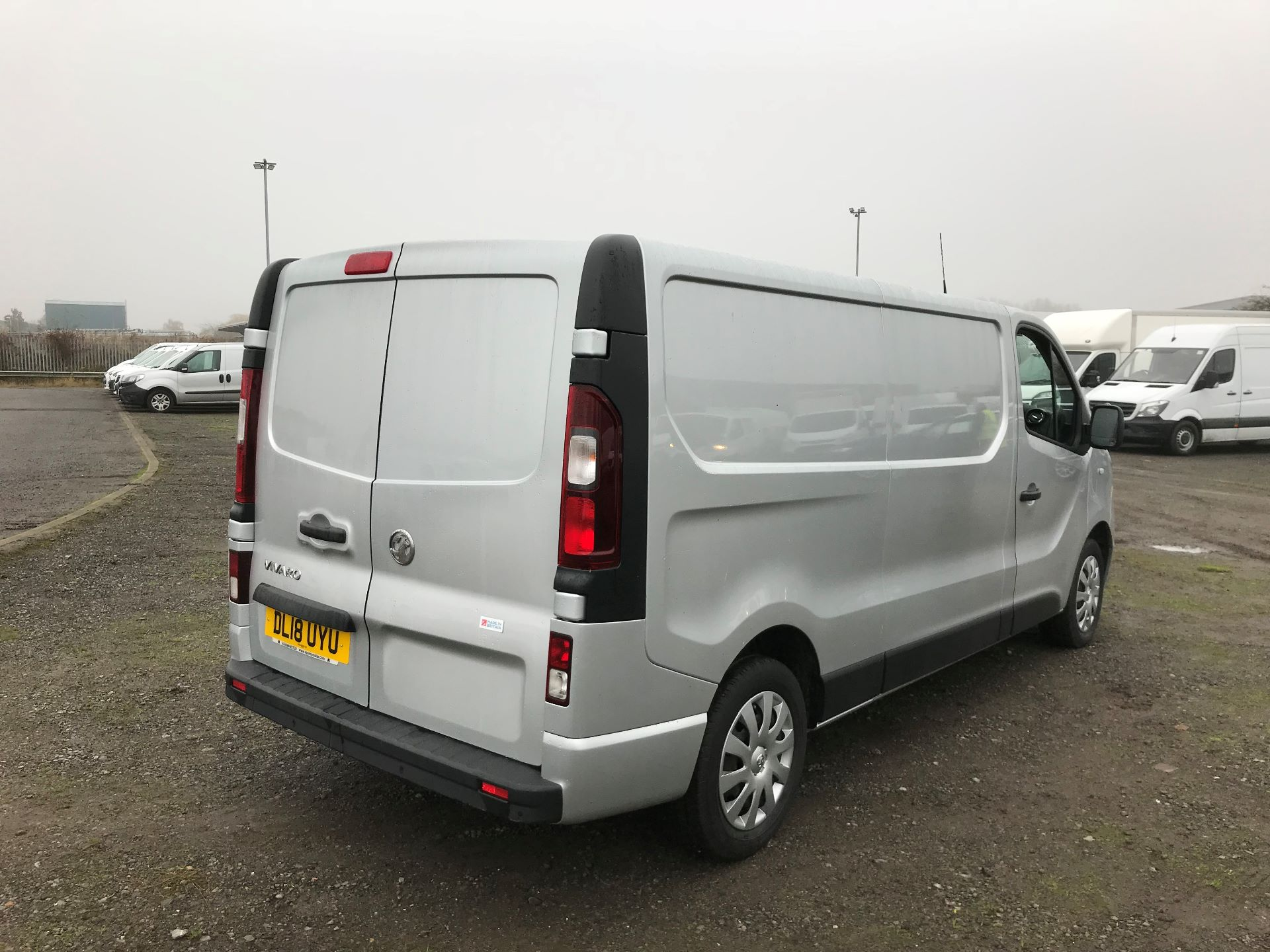 2018 Vauxhall Vivaro 2900 1.6Cdti 120Ps Sportive H1 Van (DL18UYU) Image 7