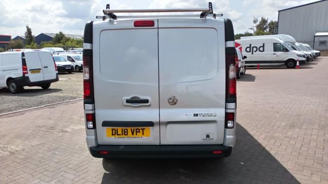 2018 Vauxhall Vivaro 2900 1.6Cdti Biturbo 125Ps Sportive H1 Van (DL18VPT) Image 4