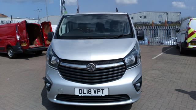 2018 Vauxhall Vivaro 2900 1.6Cdti Biturbo 125Ps Sportive H1 Van (DL18VPT) Image 7