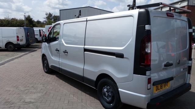 2018 Vauxhall Vivaro 2900 1.6Cdti Biturbo 125Ps Sportive H1 Van (DL18VPT) Image 5