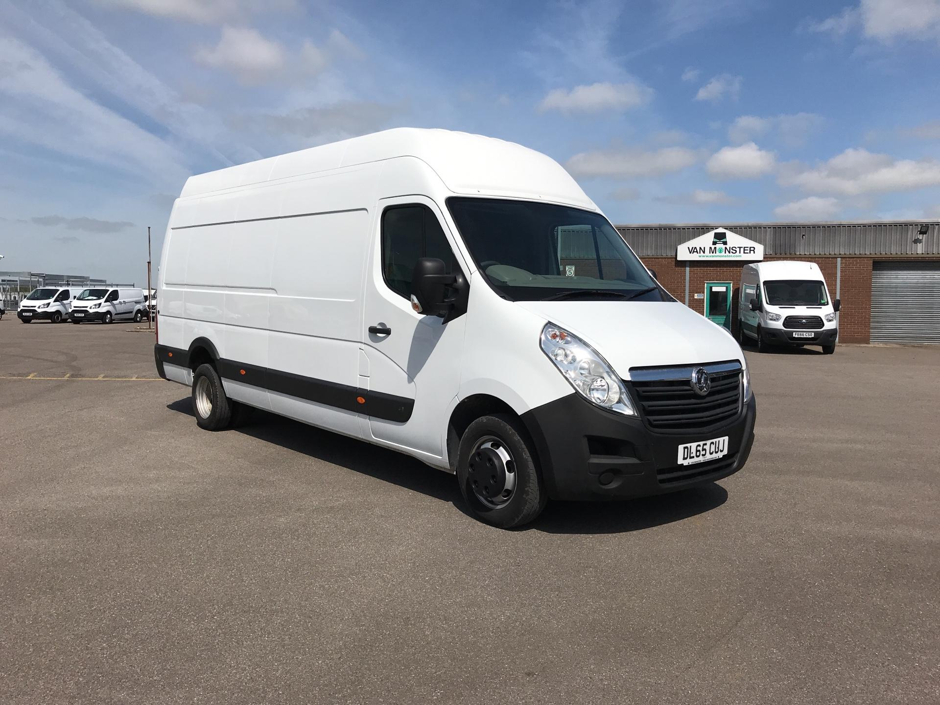 2015 Vauxhall Movano 35 L4 H3 125PS EURO 5. TWIN REAR WHEELS (DL65CUJ)