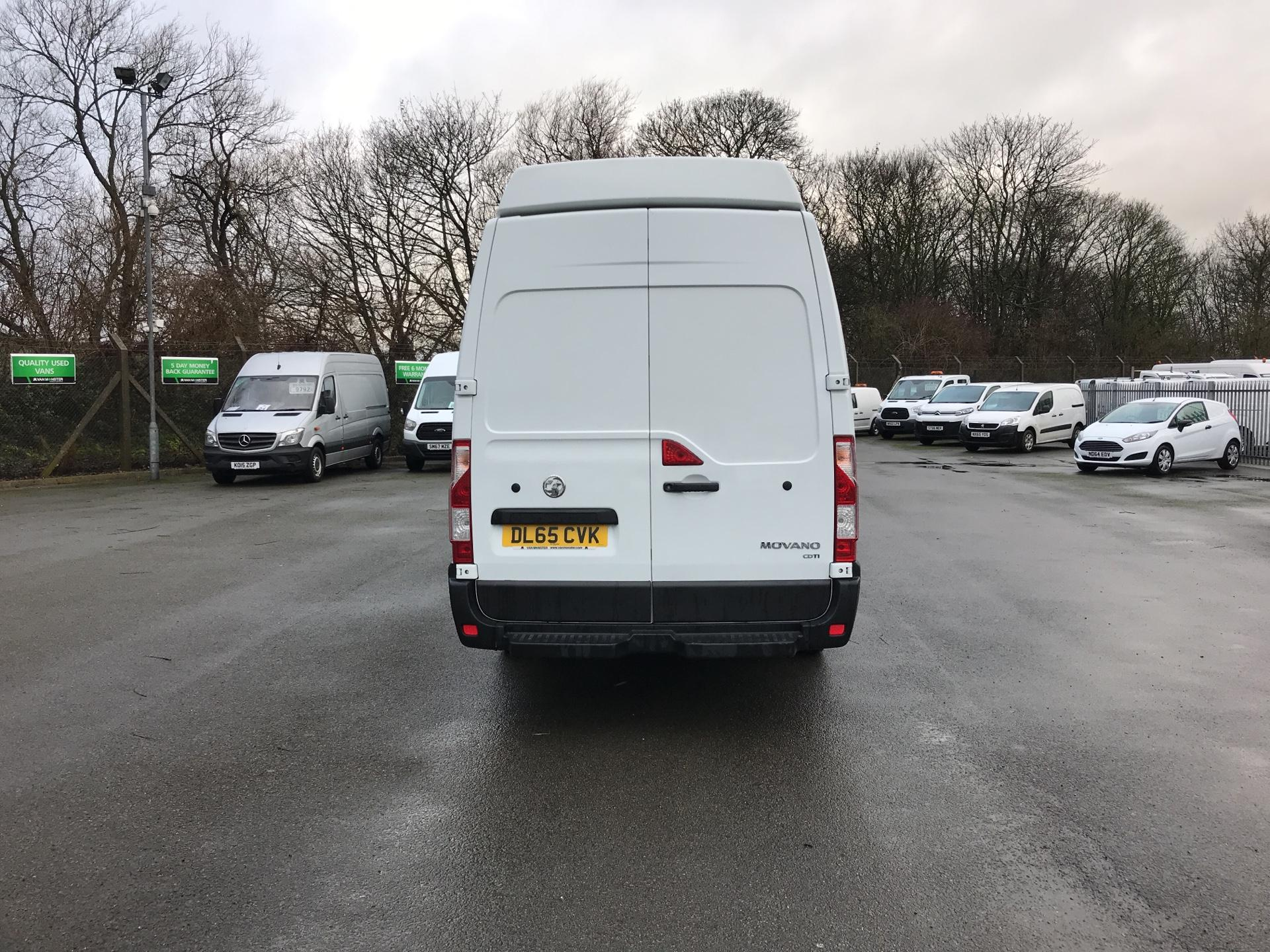 2015 Vauxhall Movano 35 L3 H3 125PS EURO 5 *VALUE RANGE VEHICLE - CONDITION REFLECTED IN PRICE* (DL65CVK) Image 4