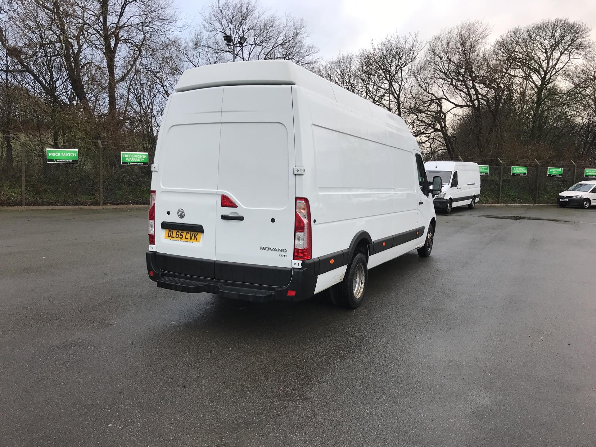 2015 Vauxhall Movano 35 L3 H3 125PS EURO 5 *VALUE RANGE VEHICLE - CONDITION REFLECTED IN PRICE* (DL65CVK) Image 3