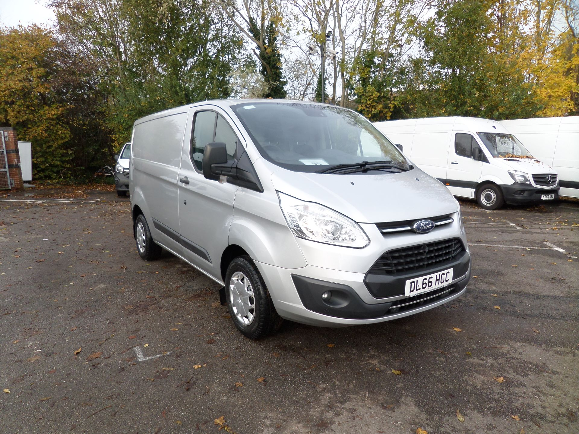 2016 Ford Transit Custom 2.0 Tdci 130Ps Low Roof Trend Van Euro 6 (DL66HCC)