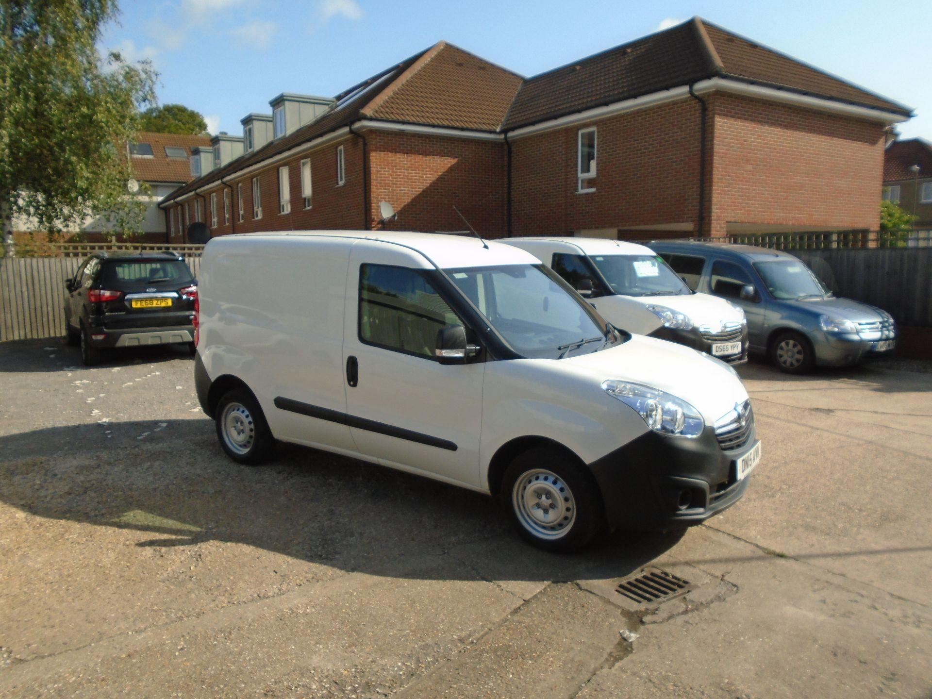 2015 Vauxhall Combo 2000 1.3 Cdti 16V H1 Van(EURO5) (DN15AVM)