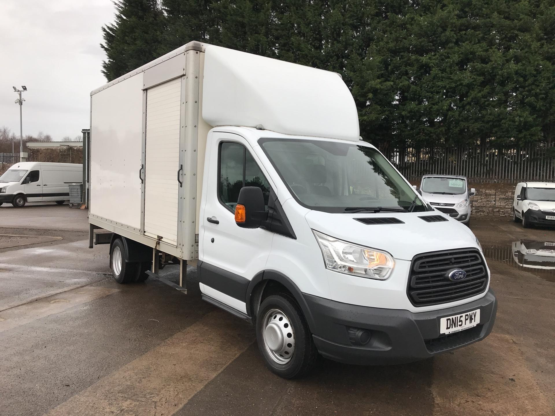 2015 Ford Transit 350 L3 2.2 TDCI 125PS 'ONE STOP' LUTON VAN TWIN SIDE DOORS  (DN15PWY)
