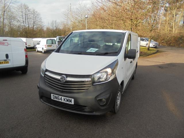 2014 Vauxhall Vivaro 2900 1.6Cdti 115Ps H1 Van (DN64KMM)