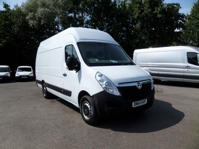2014 Vauxhall Movano 35 L3 H3 125PS EURO 5 (DN64KUF)