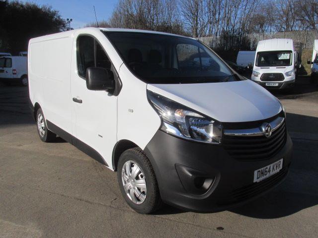 2014 Vauxhall Vivaro 2900 L2 H1 1.6Cdti 115PS Van (DN64KVR)