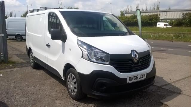 2016 Renault Trafic Sl27 Energy Dci 125 Business Van (DN66JXV)
