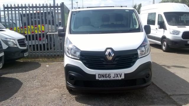 2016 Renault Trafic Sl27 Energy Dci 125 Business Van (DN66JXV) Image 2
